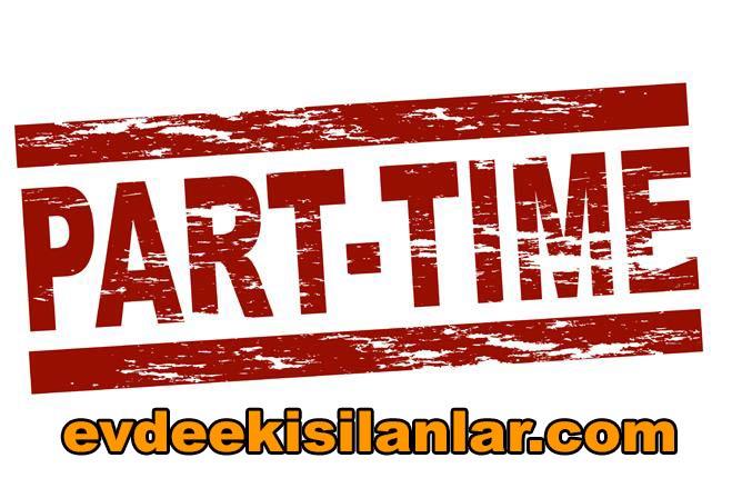 Part time garson iş ilanları Anadolu ve Avrupa yakası